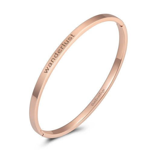 Fashionthings Bangle wanderlust roségoud 4mm