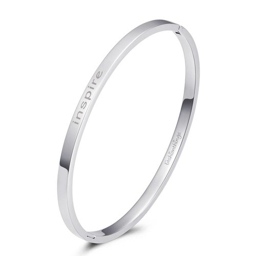 Fashionthings Bangle inspire zilver 4mm