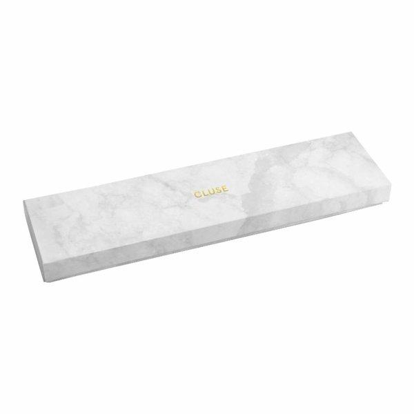 La Roche Petite Mesh Rose Gold/White Marble CL40107 33mm