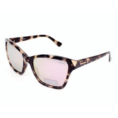 GUESS zonnebril GU7398 55C light havana