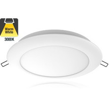 Led Downlighter 16w, 1440 Lumen, 3000K Warm wit, Ø200 mm gatmaat, 2 Jaar Garantie