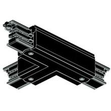 3 Fase Rail 4 wire Koppelstuk T Zwart