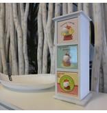 ART FROM ITALY Minikommode CUPCAKE