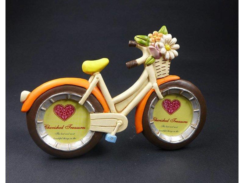 ART FROM ITALY 2er Set Bilderrahmen Fahrrad