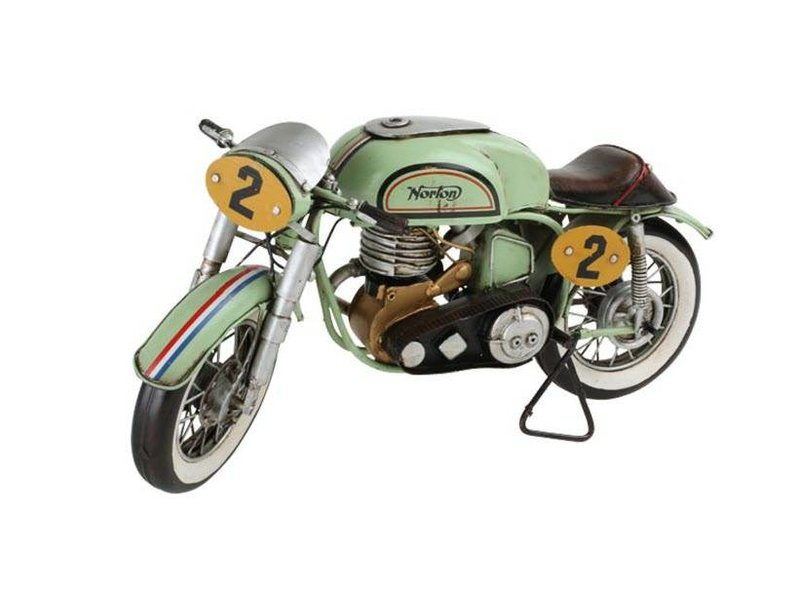 Light & Living Motorrad Vintage-Deko