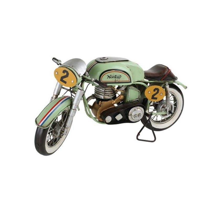 Motorrad Vintage-Deko