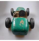 Light & Living Rennwagen aus Holz in der Farbe grün