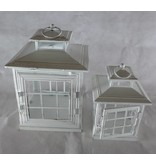 ART FROM ITALY Laternen Set sehr hochwertig für Garten, Terrasse oder Wohnung aus Holz