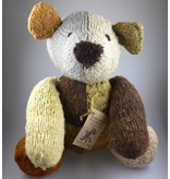 Kenana Stofftiere Teddybär in Multicolor ca 42 cm aus Wolle - Kenana Stofftiere -