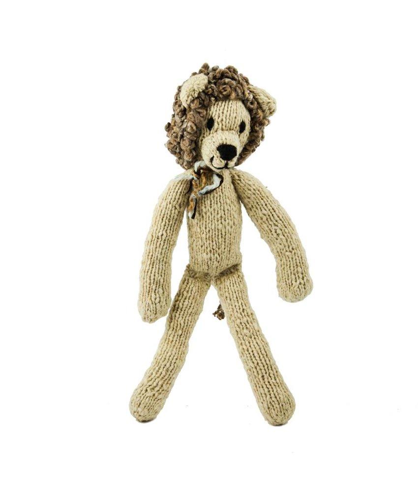 Creme Woll-Löwe 35cm, Kuscheltier, Spielzeug, Stofftiere