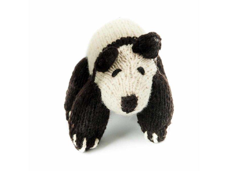 Kenana Stofftiere Woll-Pandabär - Kenana Stofftiere - Handmade - circa 20 cm aus Wolle