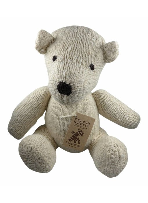 Teddybär in Creme
