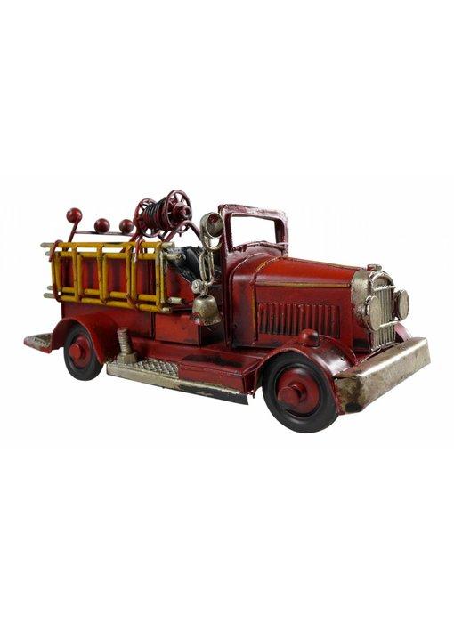 Blech-Feuerwehrauto, 17 x 8 x 8 cm