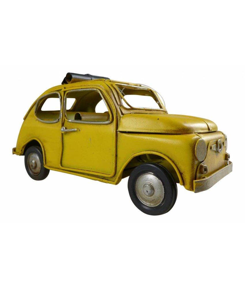 Blech Mini, gelb