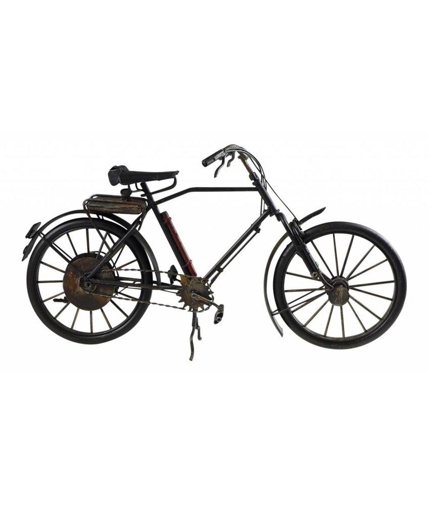 Blech-Fahrrad schwarz