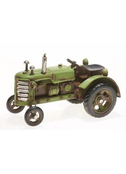 Blech-Traktor, hellgrün