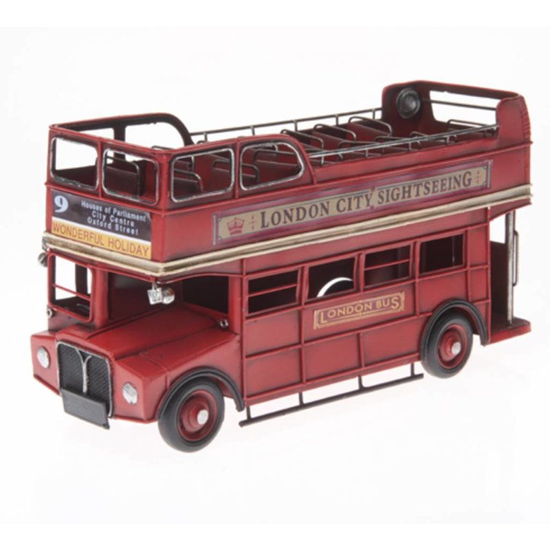 London Bus in rot 31 cm groß