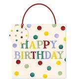 Geschenktasche Happy Birthday in 22x22x8 cm