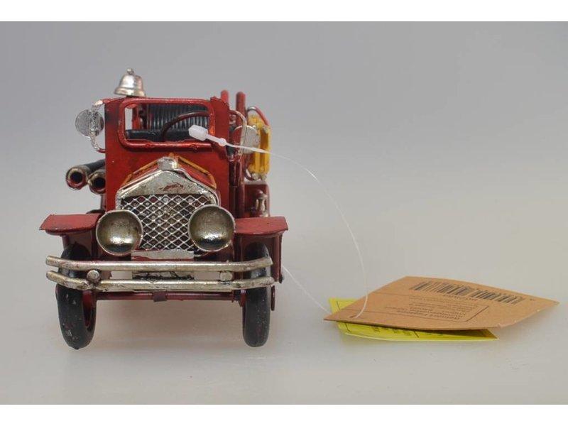 Reinhart Faelens Kunstgewerbe   Blech-Feuerwehrauto, 19 x 7 x 7 cm