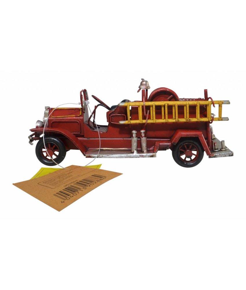 Blech-Feuerwehrauto, 19 x 7 x 7 cm