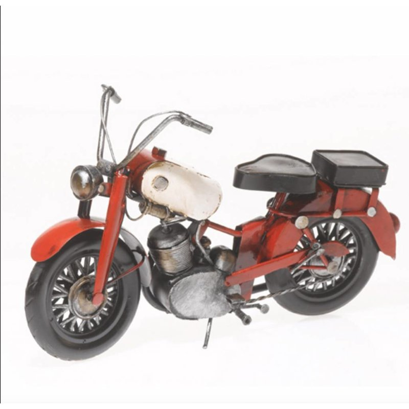 Motorrad BMW aus Metall 25 cm