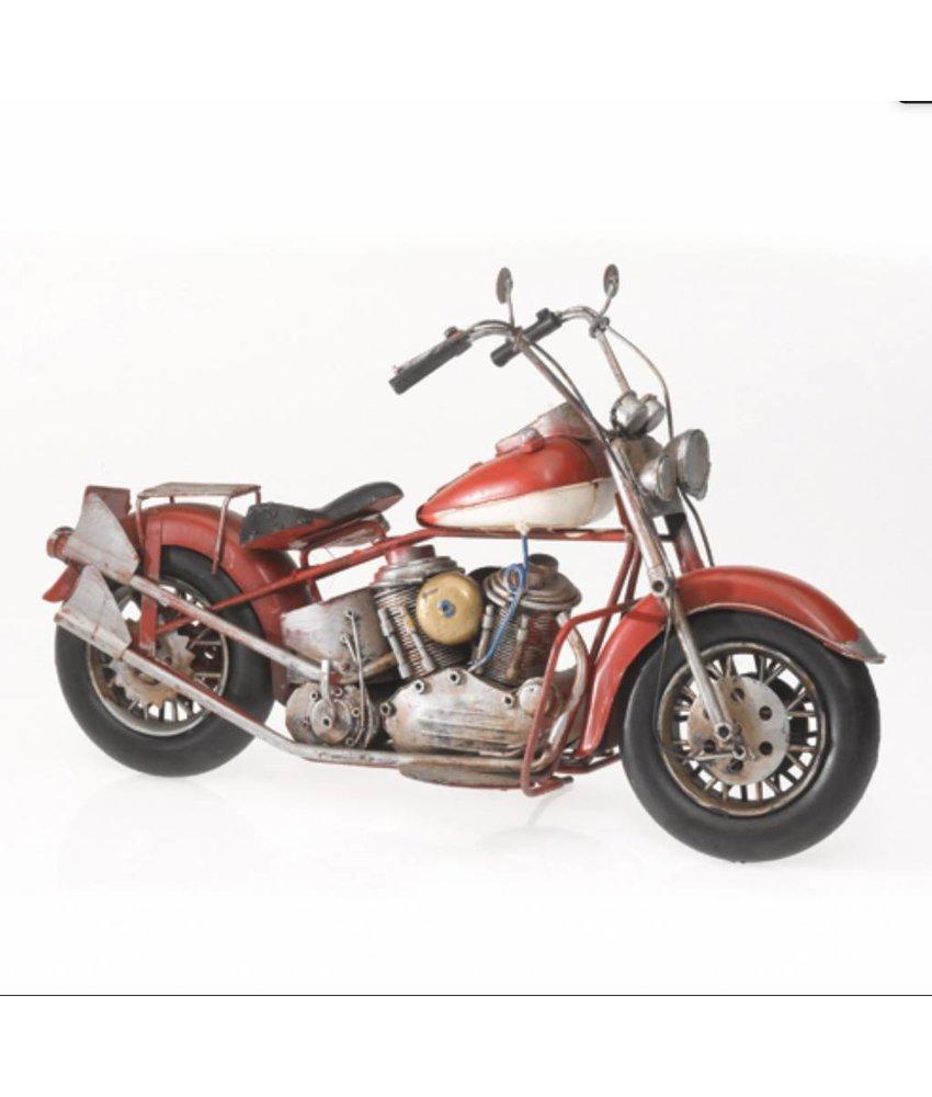 "Blech-Motorrad ""US-Style"""