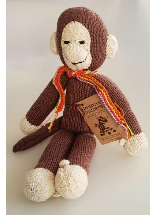 Affe aus Wolle