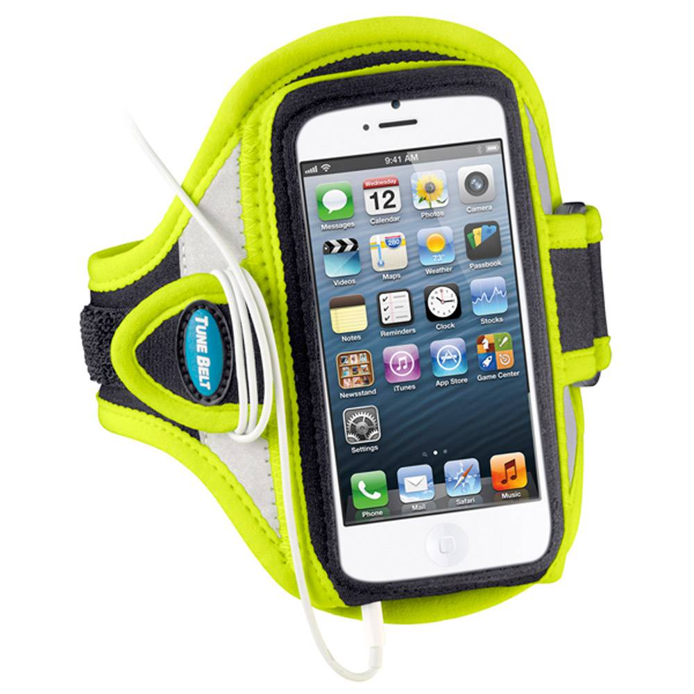 Tune Belt Tune Belt AB87RY Sport armband reflecterend geel
