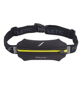 Fitletic Fitletic N01-5 Single Pouch Zwart & Geel
