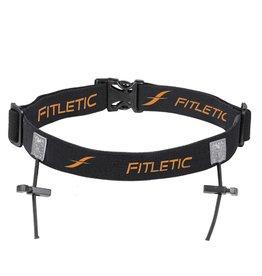 Fitletic Fitletic RN01-13 Heupband Race Zwart & Oranje