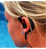 DryCASE DB-26 waterdichte in-ear hoofdtelefoon met microfoon