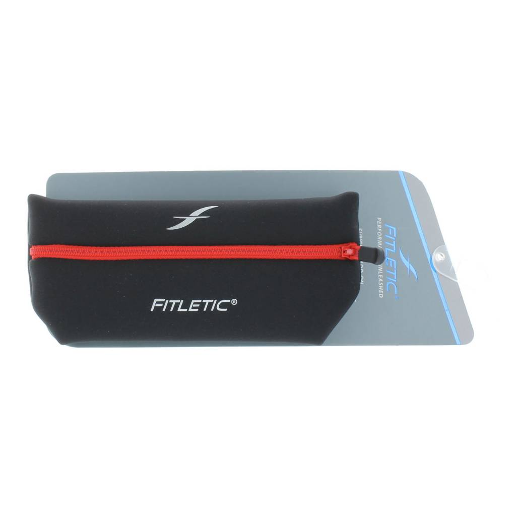 Fitletic Fitletic ADP01-2 Add-on pouch zwart rood