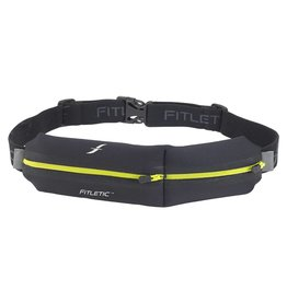 Fitletic Fitletic N02-05 Double Pouch Zwart & Geel