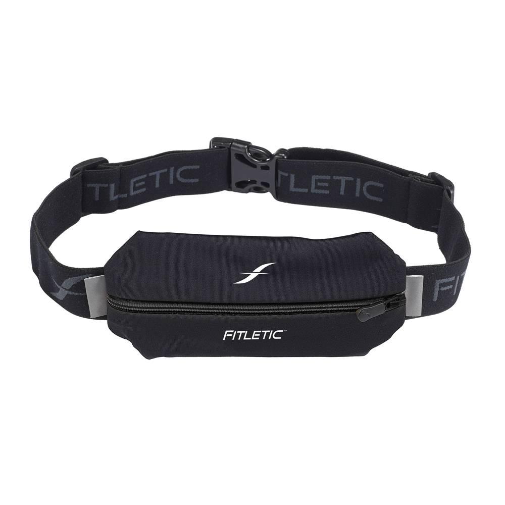 Fitletic Fitletic MSB01-01 Lycra Mini Sport Belt Zwart