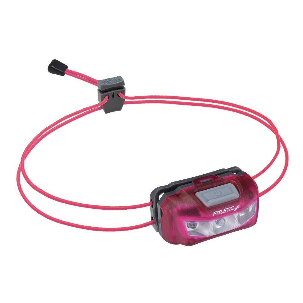 Fitletic Fitletic SW-30-08 Swift Hoofdlamp 30 lumen roze