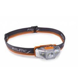 Fitletic Fitletic Vivid Hoofdlamp 120 lumen Oranje