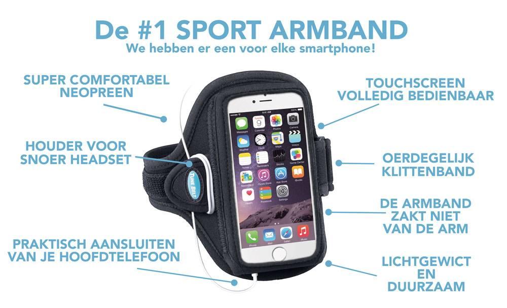 De beste hardloop armband voor je smartphone