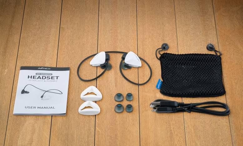 Avanca Avanca D1 AVBS-1109 Sports Headset White