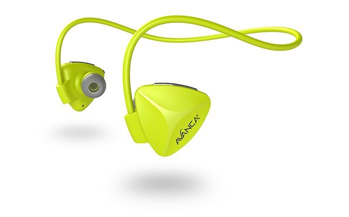 Avanca Avanca D1 AVBS-1104 Sports Headset Yellow