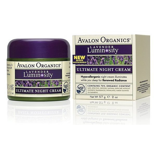 Avalon Organics Lavender Night Creme