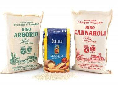 Rijst en meelspijzen