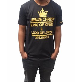 Continental Clothing T-shirt (Jesus King of kings)