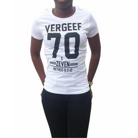 Continental Clothing Dames T-shirt (Vergeef 70x7)