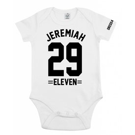 Earthpositive Baby romper (Jeremiah 29:11)