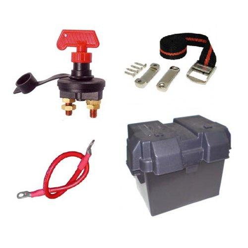 Accu, accubak, kabels en accessoires