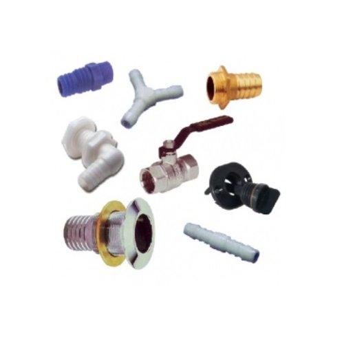 Accessoires/ ball valve/ fittings/ thru hull/ drain plugs