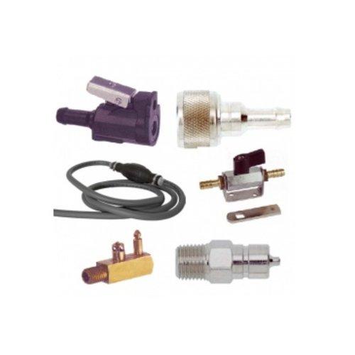 Connectors benzine slang pomp balge en benzine kraan