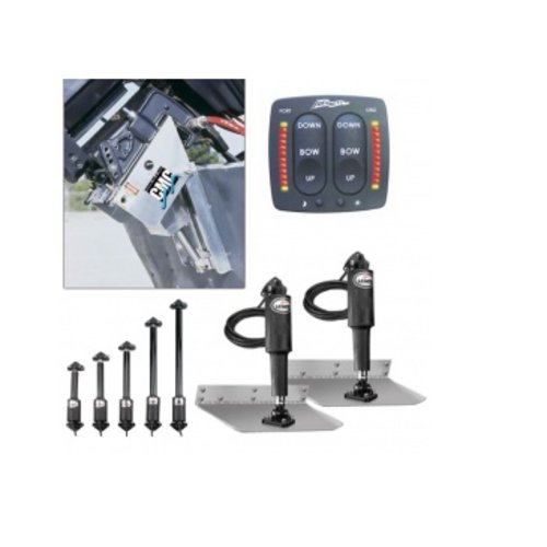 Power trim/lift en trim tabs