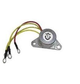 OMC gelijkrichter 6-10Amp 50 pk 71-75, 60 pk (F) 89-91 65 pk +   (PH350-0001)