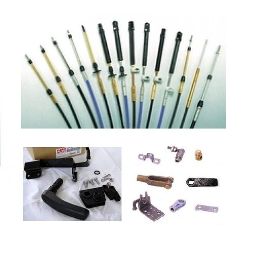 Mercury / Mariner Afstandsbediening kabels, accessoires en aanbouwkit